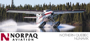 Norpaq bush plane transport